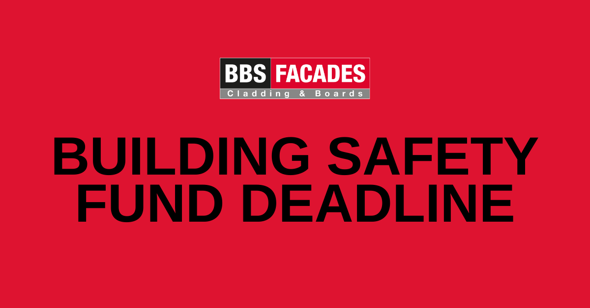 Building Safety Fund deadline is fast approaching